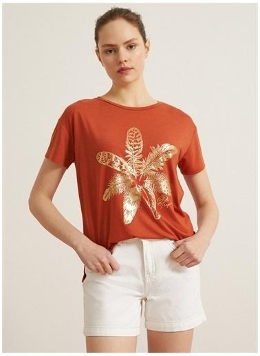 Koton Koton T-Shirt Bakır